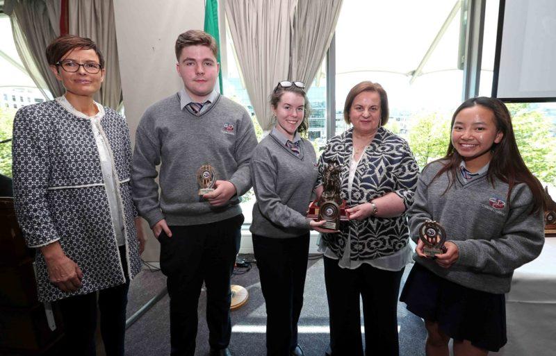 REPRO FREE. 22/05/2018 Colàiste Daibhèid Annual Awards, Gradaim na Scoile, at the Clayton Hotel Cork City, Lapps Quay, Cork. Picture: Jim Coughlan.