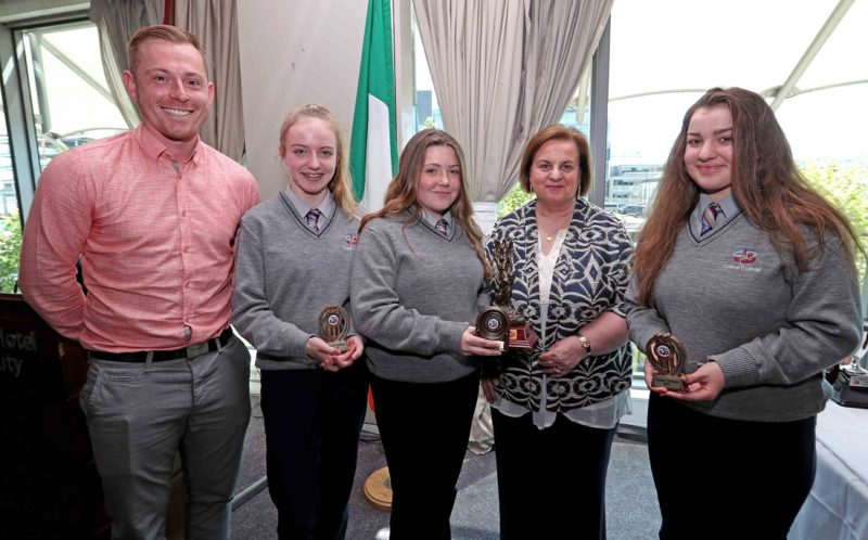 REPRO FREE. 22/05/2018 Colàiste Daibhèid Annual Awards, Gradaim na Scoile, at the Clayton Hotel Cork City, Lapps Quay, Cork. Picture: Jim Coughlan.